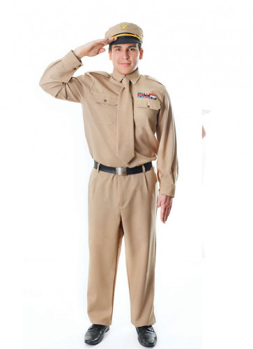 WWII Army General Costume