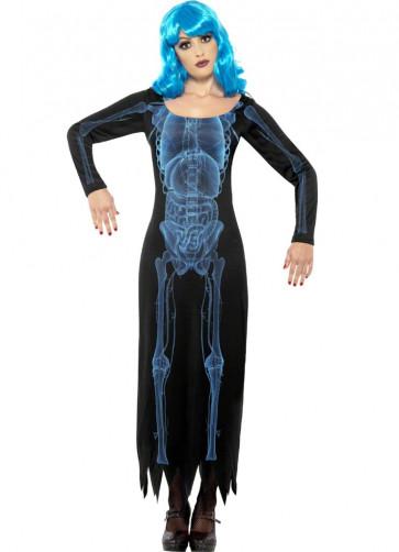 X-Ray Skeleton Dress Costume