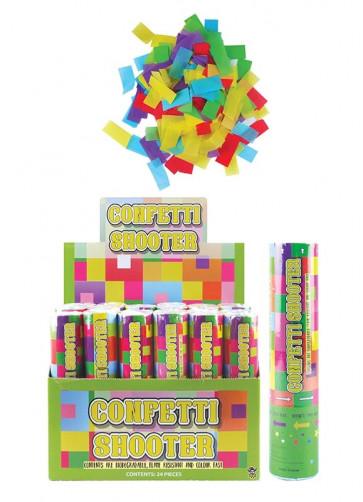 Small Confetti Blaster - 20cm - x12
