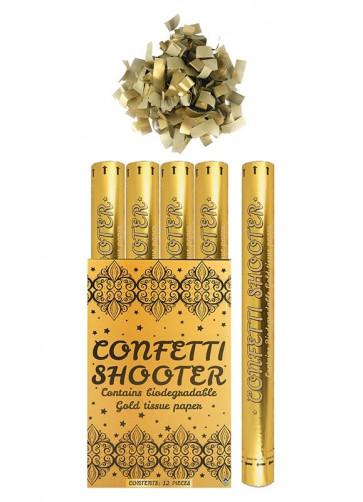 Gold Paper Confetti Blaster - 50cm