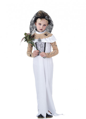 Zombie Bride (Girls) Costume