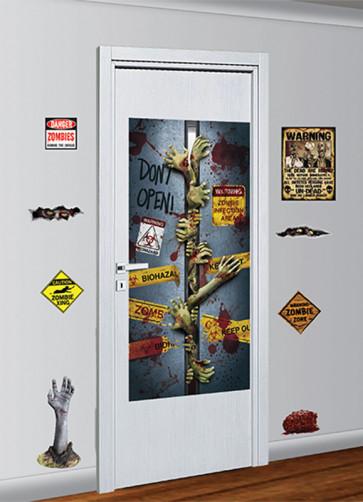 Zombie Door Decoration Kit