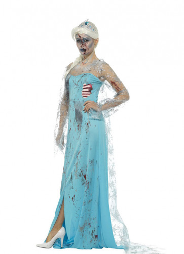 Zombie Froze-to-Death Costume