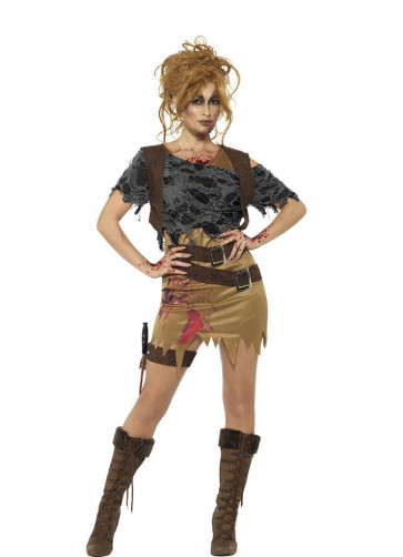 Zombie Huntress Costume