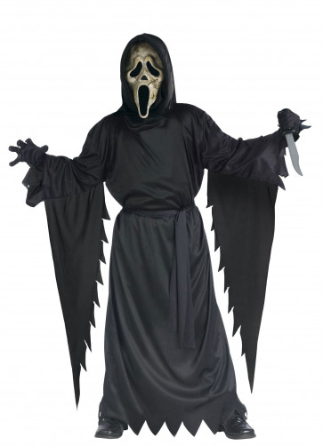 Zombie Scream Ghost Face (Boys) Costume