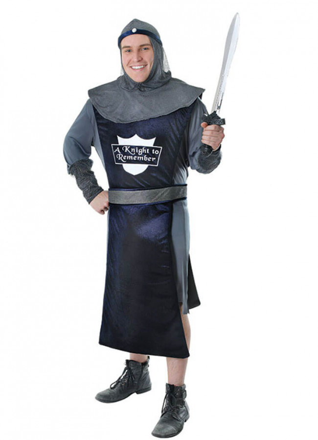 knight to remember medieval costume mens fancy dress. Black Bedroom Furniture Sets. Home Design Ideas