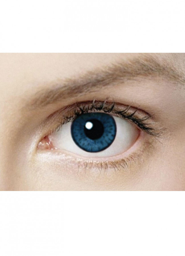 2059e81c163 Azure Blue Coloured Contact Lenses - 30 Day Wear. Zoom