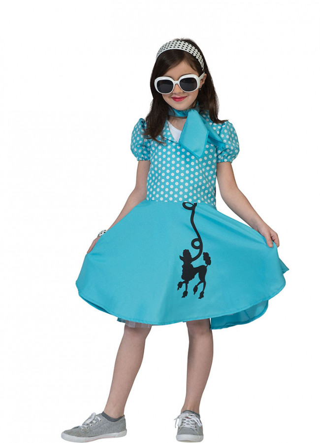 Blue Poodle Dress Costume