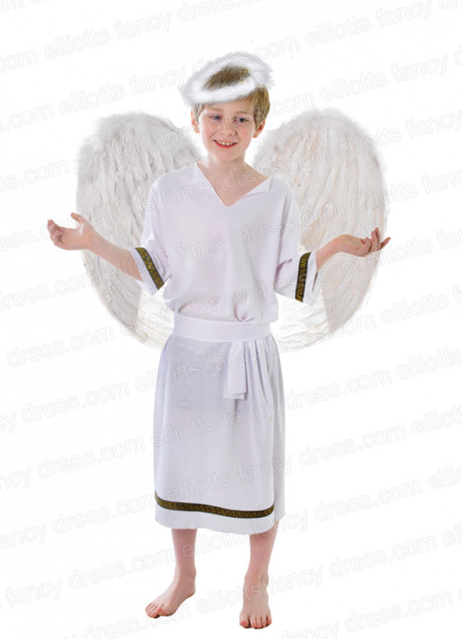 Greek Angel Boy Costume
