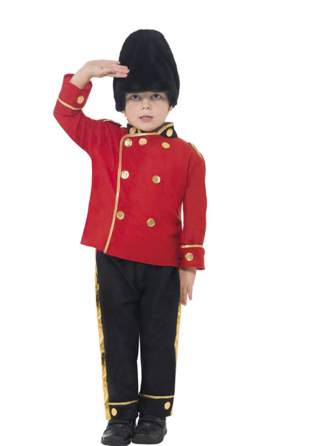Coldstream Guard Busby Boys Costume