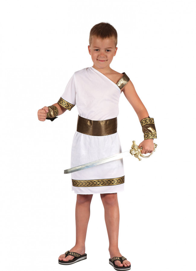 how to put on a toga male