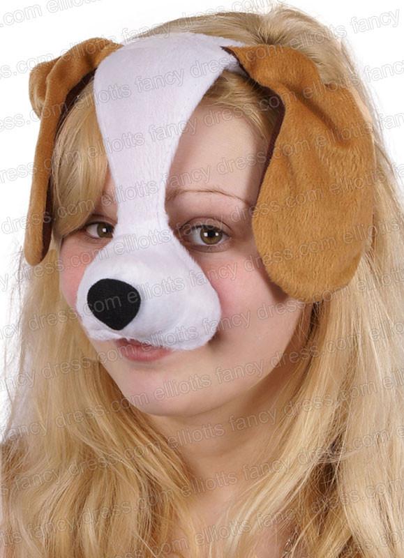 Dog Ears Mask: Dog Mask With Sound
