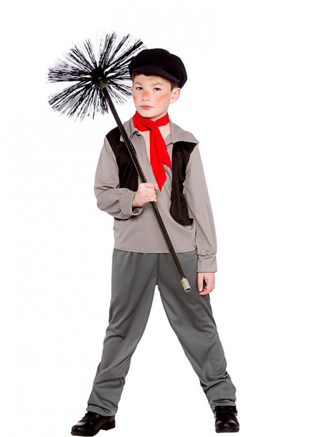 Victorian Chimney Sweep Boys Costume