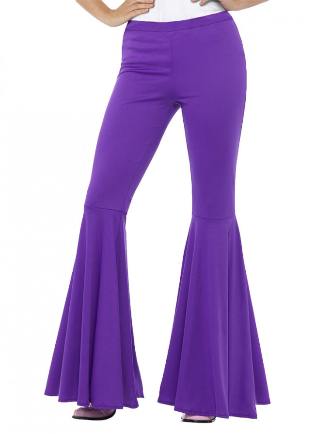 4e8771077249 Flared Trousers – Ladies – Purple. Zoom