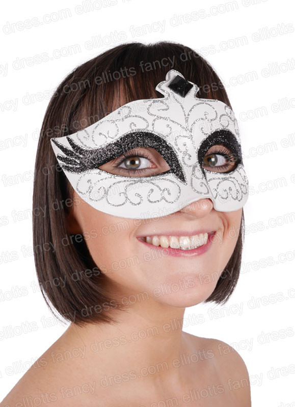 how to make a swan mask