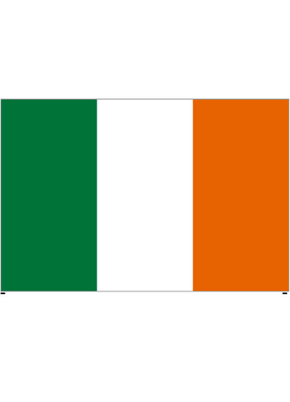 Irish Ireland Tricolour Flag