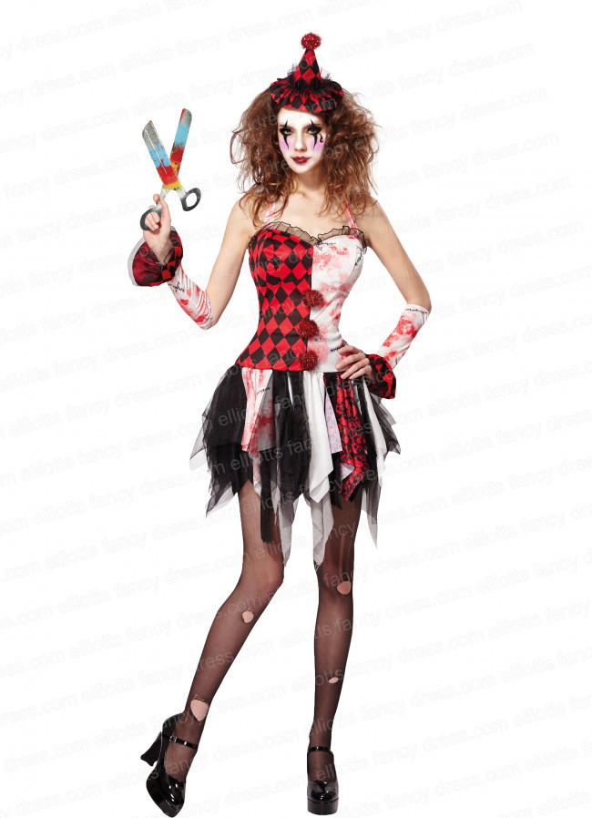 Scary jester lady solutioingenieria Image collections