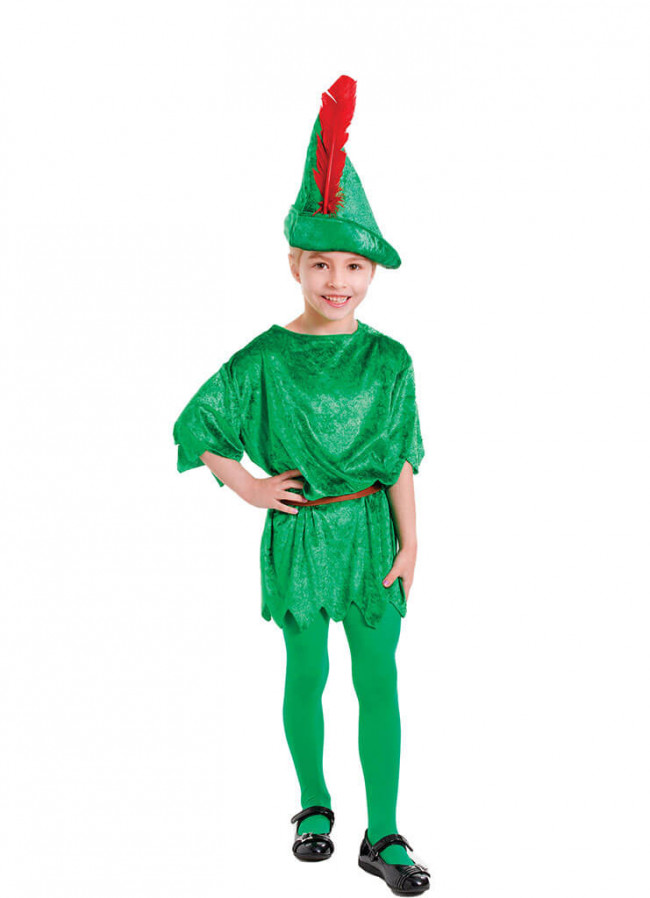 how to make a girl peter pan costume