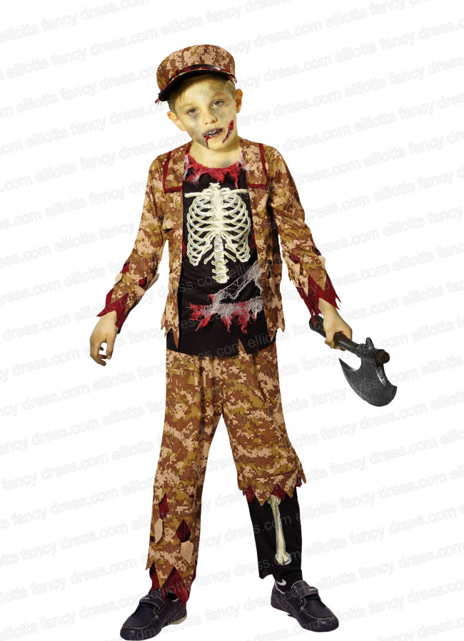 Zombie Skeleton Soldier