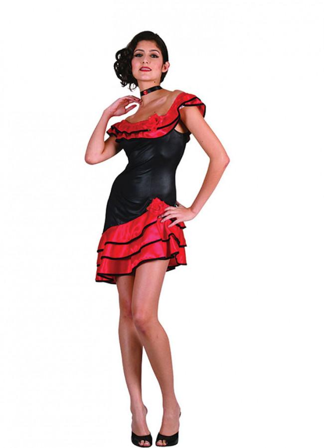 Spanish Lady Short Costume