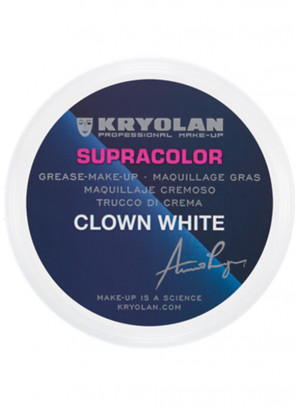 Kryolan Supracolor Clown White 250ml