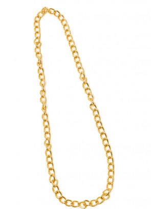 Long Gold Chain Necklace - 100cm