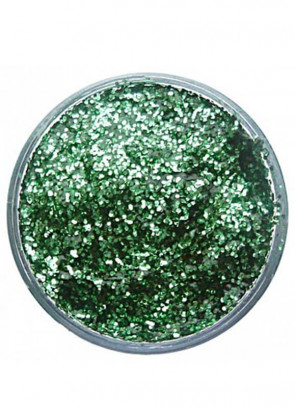 Snazaroo Glitter Gel 12ml Pot Bright Green