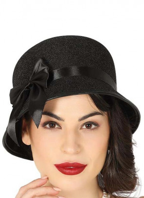 1920's Flapper Cloche Hat