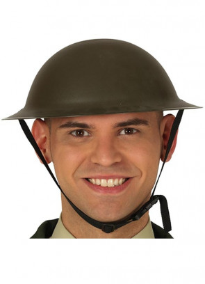 British Soldier World War Helmet