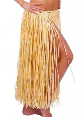 "Hawaiian Natural Raffia Grass Skirt - will fit up to waist size 34"" or 86cm"
