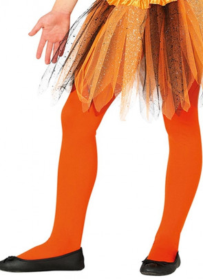 Kids Orange Tights