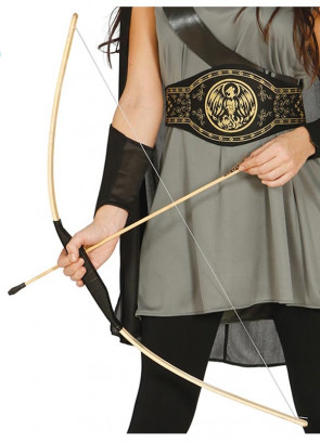 Wooden Bow and Arrows 103cm