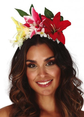Orchid Flower Headband
