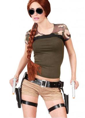 Lara Croft Thigh Holster and Guns Set