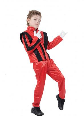 80's Superstar Red (Michael Jackson's Thriller)  (Boys) Costume