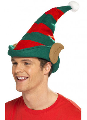 Elf Hat With Ears (Brown)