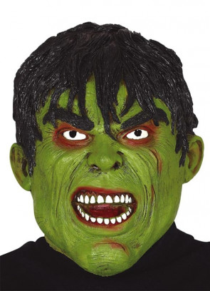Angry Green Man Mask