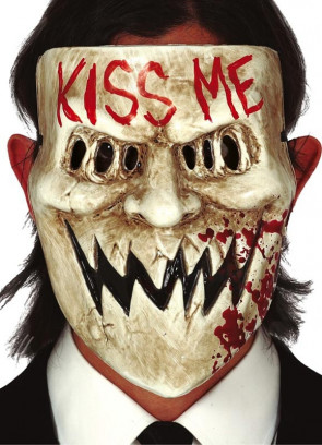 Anarchy Kiss Me Mask - Purge