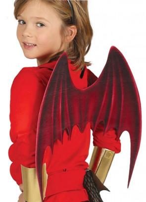 Red Dragon / Demon Wings - Kids