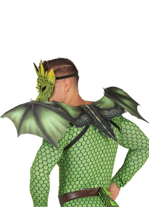 Green Dragon Wings - Adult