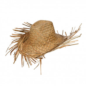 Beach Bum Hat (Straw)
