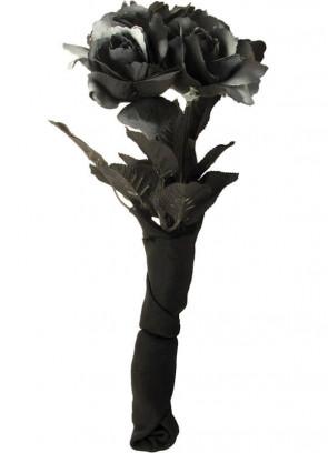 Corpse Bride Bouquet (Black Roses)