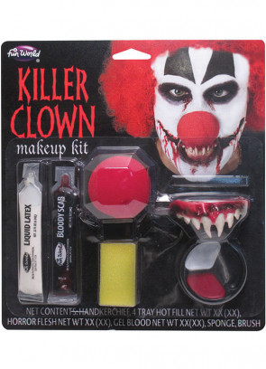 Killer Clown Make-up Kit (Teeth)