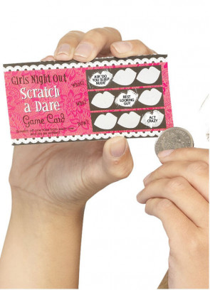 Hen Party Scratch Dare Cards