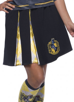 Hufflepuff Pleated Skirt - Ladies - Harry Potter