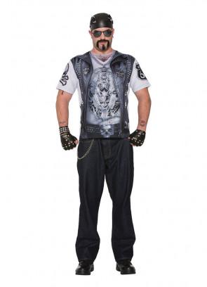 Instant Biker Dude 3D T-shirt