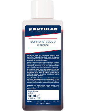 Kryolan Supreme Blood - Internal Dark 200ml