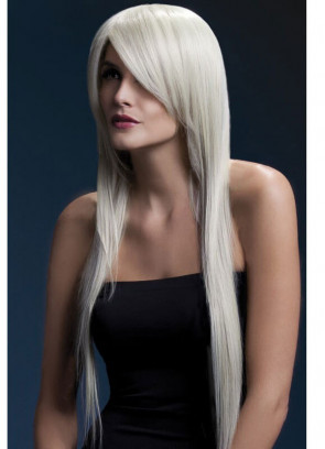 Deluxe Amber Long Straight Wig - Blonde - Styleable
