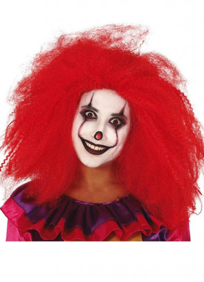 Red Clown Wig – Longer Length