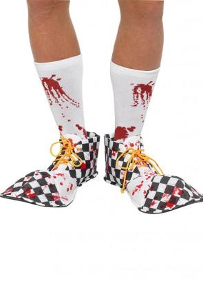 Bloody Clown Shoe Covers